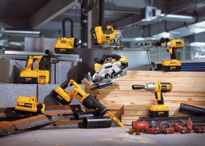 Инструменты объединенные одной моделью аккумулятора