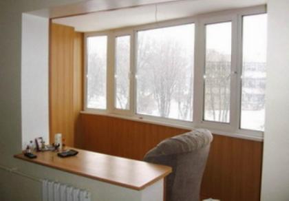 Как совместить балкон с комнатой?