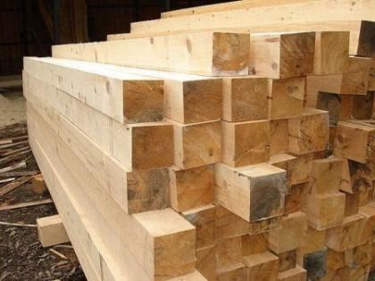 Строительный брус – опора постройки