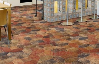 Напольная плитка – элемент декора