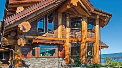 Дом из красного кедра