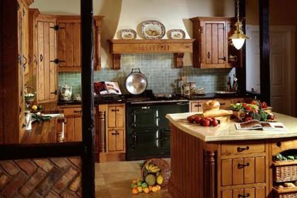 Выбор кухни для дачного дома