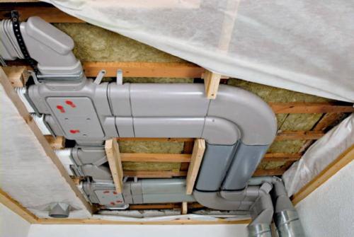 Дополнительная установка системы вентиляции