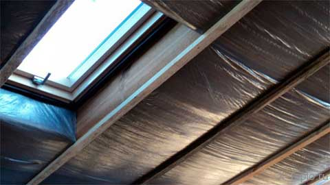Пароизоляция мансардной крыши