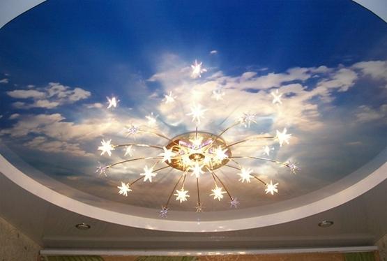 Натяжные потолки: установка, расцветки, преимущества и производители
