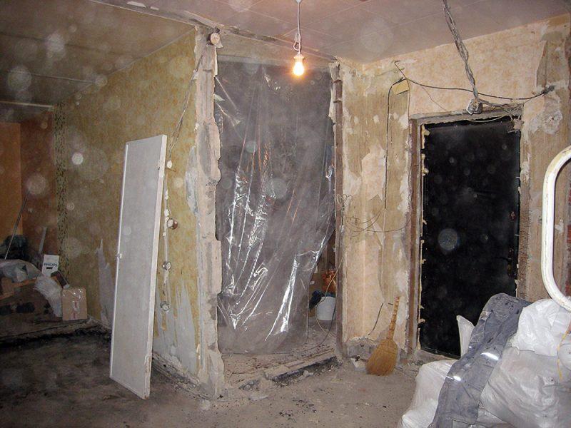 Этапы капитального ремонта дома