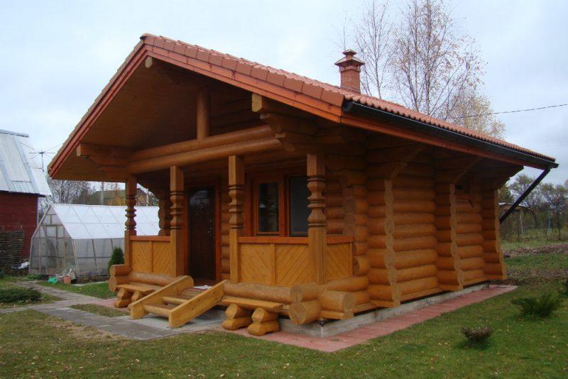 Гостевой дом в стиле русской избы