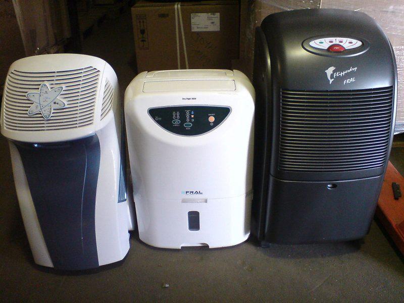 Переносной осушитель воздуха для дома