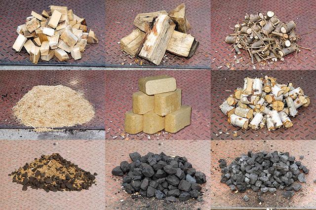 Виды древесного топлива для печи