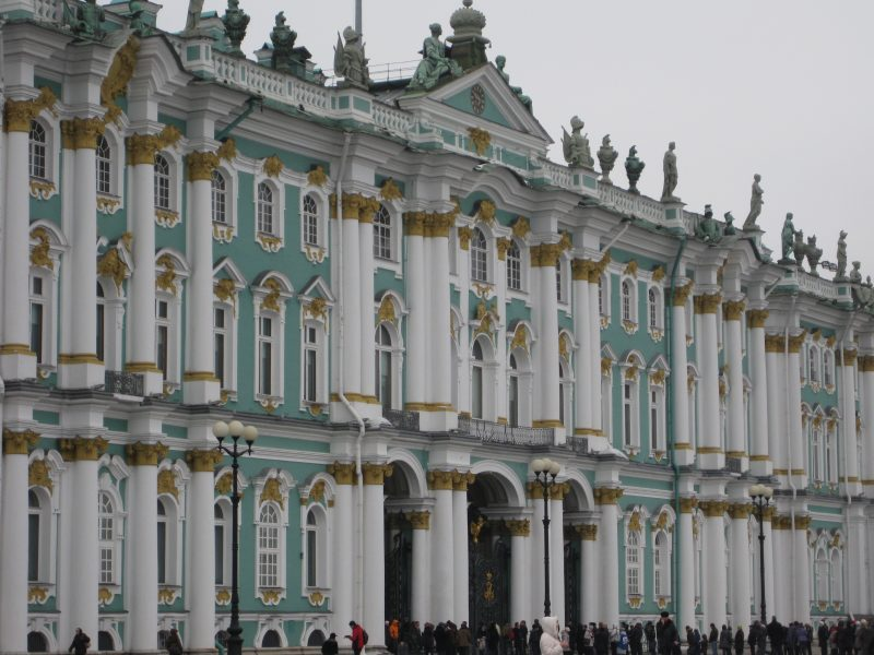 Стиль барокко в архитектуре