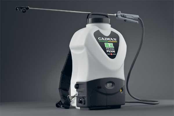 Аккумуляторный ранцевый опрыскиватель Caiman Fog King PS20E