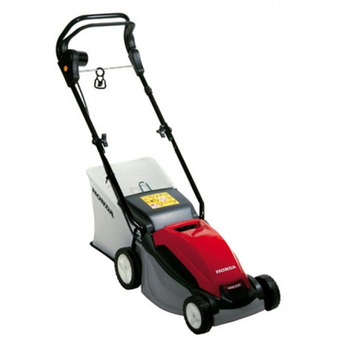 Электрические ротационные газонокосилки Honda HRE 330 PLE и HRE 370 PLE