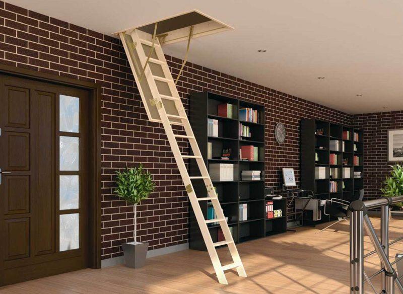 Выбор и монтаж чердачной лестницы