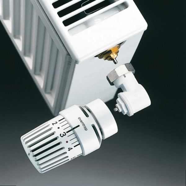 Угловой адаптер Oventrop для термоголовки