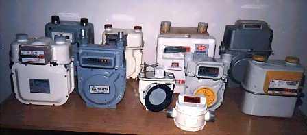 Бытовые газовые счетчики