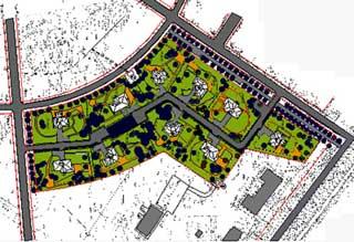 Содержание строительного генерального плана в составе проекта производства работ