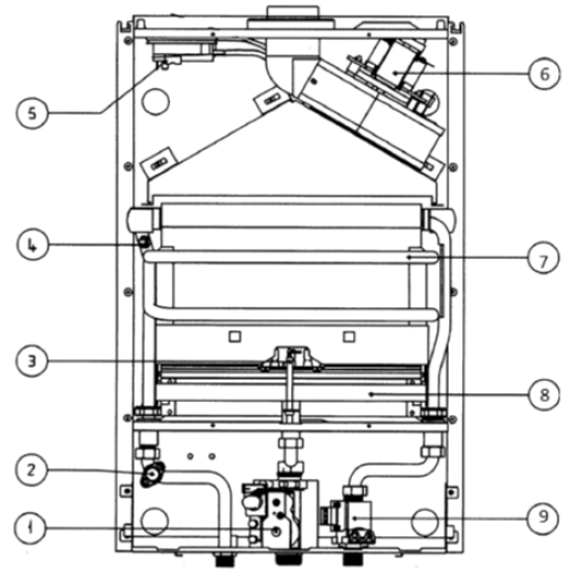 Проточный водонагреватель IDRABAGNO 13 e.s.i