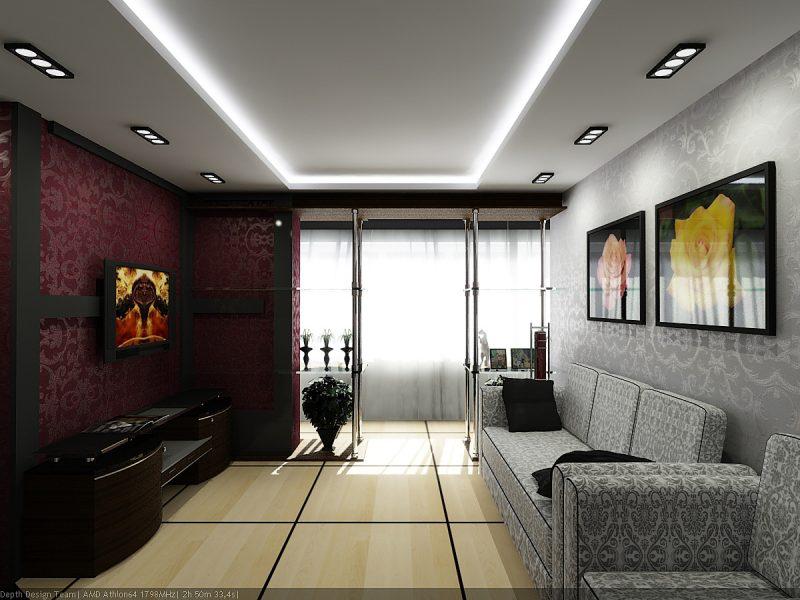 Оформление квартиры в стиле модерн