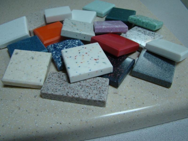 Акриловый камень в интерьере квартиры