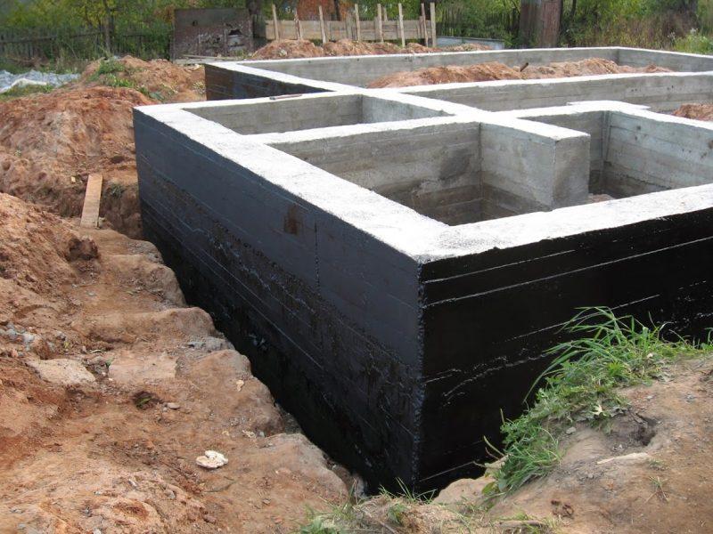 Технология проведения гидроизоляции фундамента