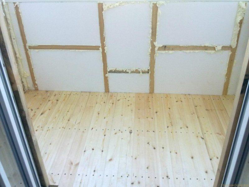 Теплоизоляция стен пенопластом изнутри