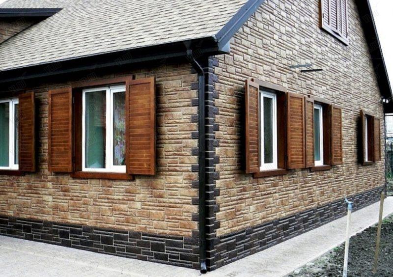Современные отделочные материалы для фасада