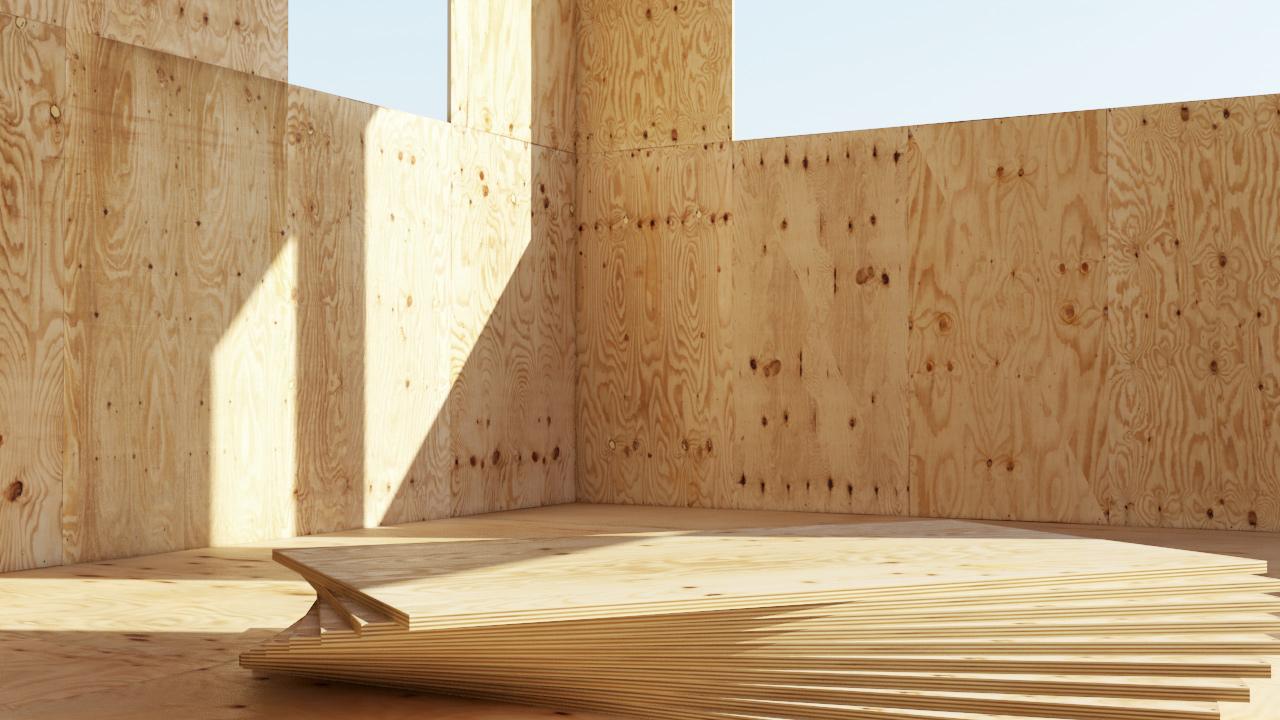 Фанера - конструкционный материал для каркасного дома