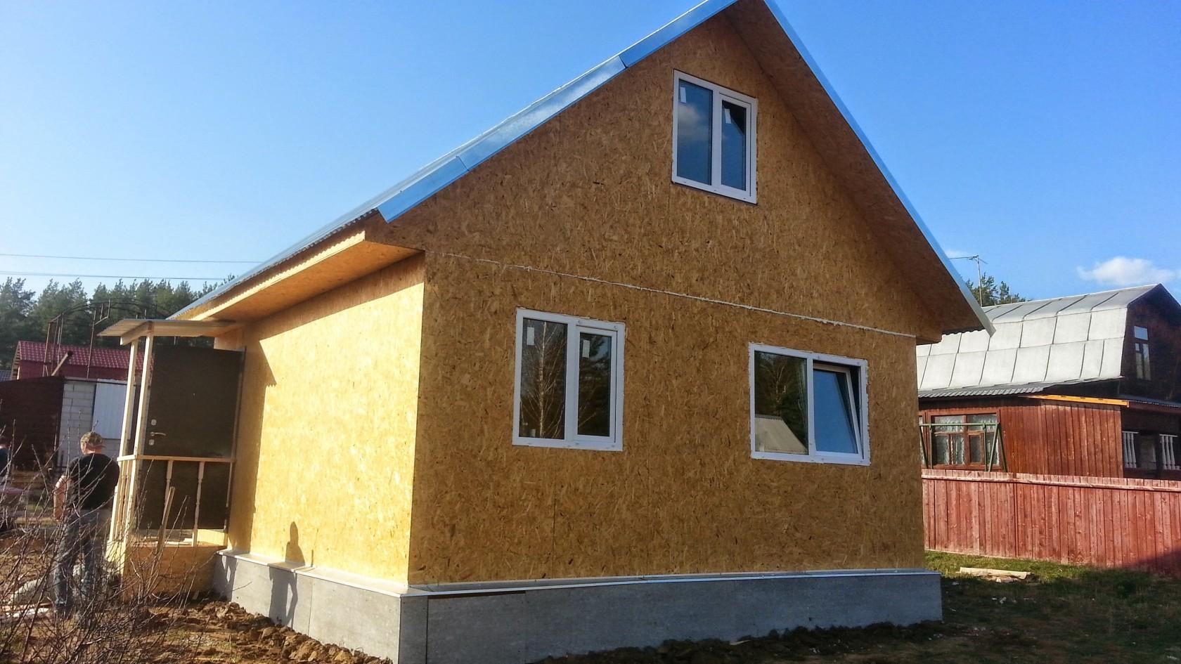 Из каких материалов можно построить недорогой дом для сезонного проживания