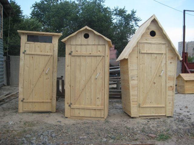 Как построить туалетную кабину своими руками