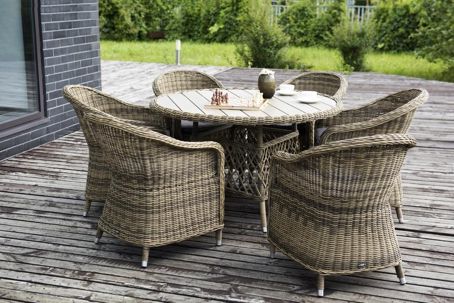 Выбираем мебель для сада или открытой террасы