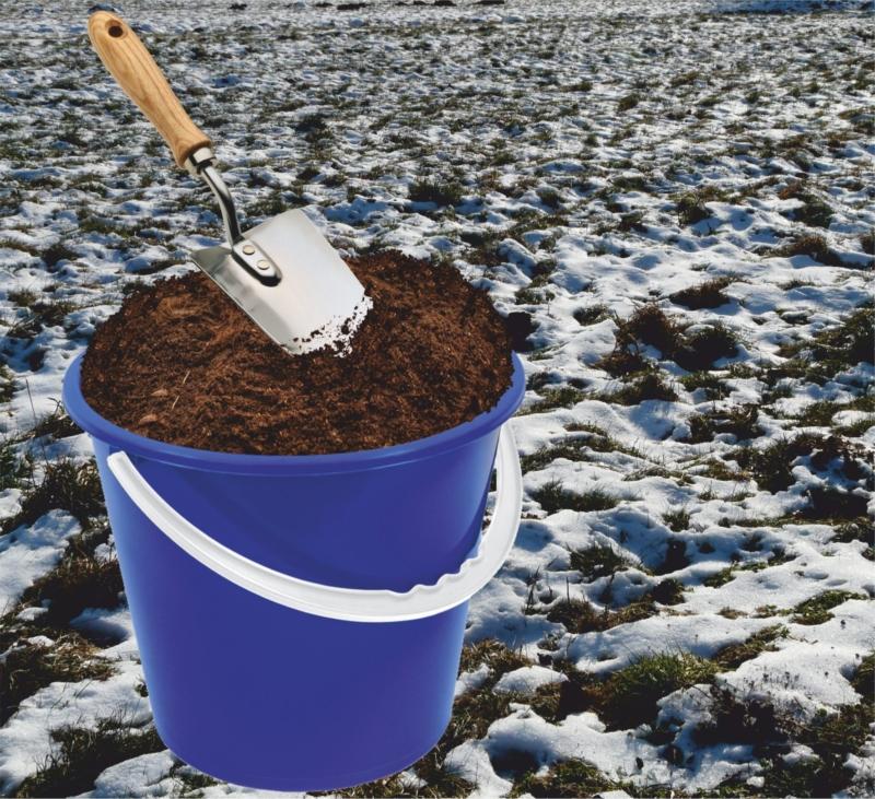 Земля для рассады - из теплотрассы