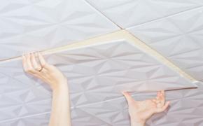 Как самостоятельно уложить полистирольную плитку на потолок