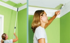 Покраска потолка и стен водоэмульсионной краской: особенности, технология, рекомендации