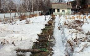 Выгода от прошлогоднего снега
